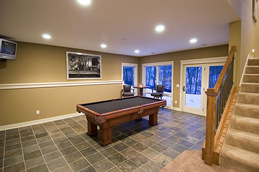 Plymouth Basement Remodeling Design