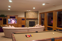 Chanhassen Basement Remodeling Design